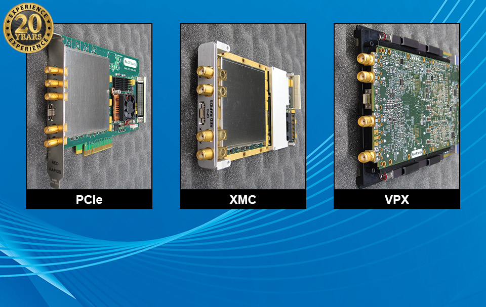 Wideband ADC/DAC ProductsMulti-Channel Open Architecture Solutions